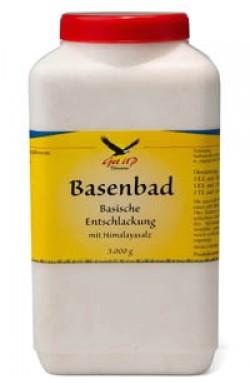 Basisches Entschlackungsbad mit Himalajasalz, 3kg Inhalt