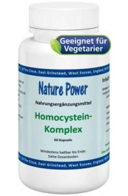 Homocystein-Komplex, 60 Kaps, vegetarisch