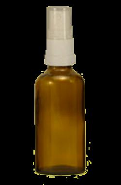 Sprühflasche mit Zerstäuber, 100ml Inhalt