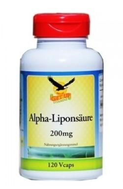 Alpha-Liponsäure 200mg, 120 veg. Kapseln