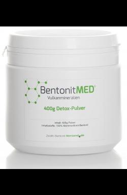 Bentonit Pulver natürlich, 400g für 40 Tage