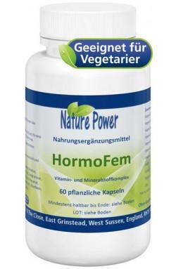 HormoFem: Stoppt den Nährstoffmangel wegen Pille, 60 veg. Kaps