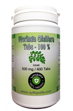 Moringa Oleifera Tabs 500mg - 400 Stk