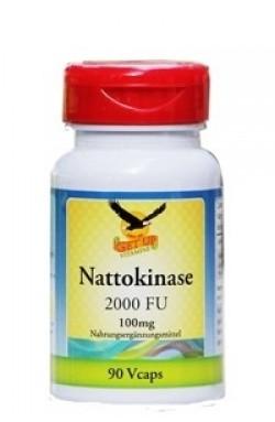 Nattokinase, 100mg, 2000FU, 90 vegetarische Kapseln