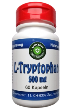 L-Tryptophan vegan, 60 x 500mg