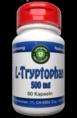 L-Tryptophan vegan, 60 x 500mg