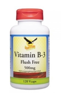 Vitamin B3 Niacinamid 500mg, 120 veg. Kaps