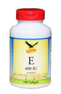 Vitamin E (d-Alpha-Tocopherol), 180 Kapseln