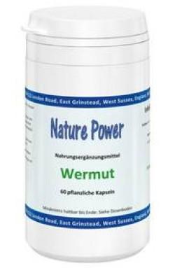Wermut (Artemisia absinthium L.), 60 Kapseln