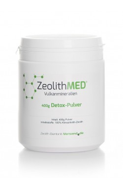 Zeolith Pulver natürlich, 400g für 40 Tage