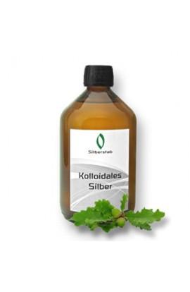 Kolloidales Silber 25 ppm bestellen - Silberkolloid 500ml