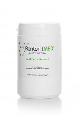 Bentonit natürlich-vulkanisch Kapseln, 600Stk für 100 Tage hier bestellen