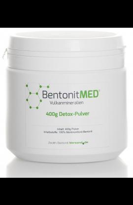 Bentonit natürlich-vulkanisch Pulver, 400g für 40 Tage hier bestellen