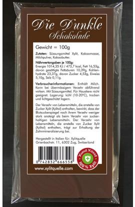 Xylit Schokolade DIE DUNKLE hier bestellen