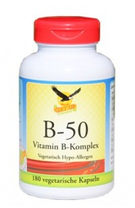 Vitamin B-50 50mg Komplex von get up