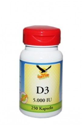 Vitamin D3 (Cholecalciferol) 5000 IE