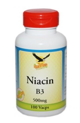 Vitamin B3 Niacin 500mg, 100 Kapseln