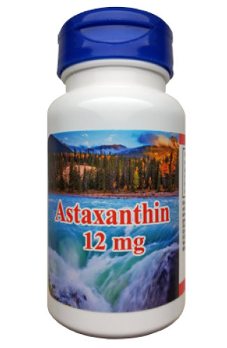 Astaxanthin 12mg, 60 Kapseln - VEGGY