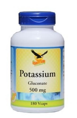 Kalium (Gluconat) 500 mg, 180 Kaps