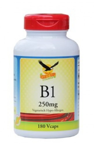 Vitamin B1 Thiamin 250mg, 180 Kapseln