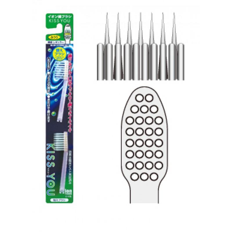 Ersatzbürsten zur Ionen Zahnbürste mit superfeinem Bürstenkopf
