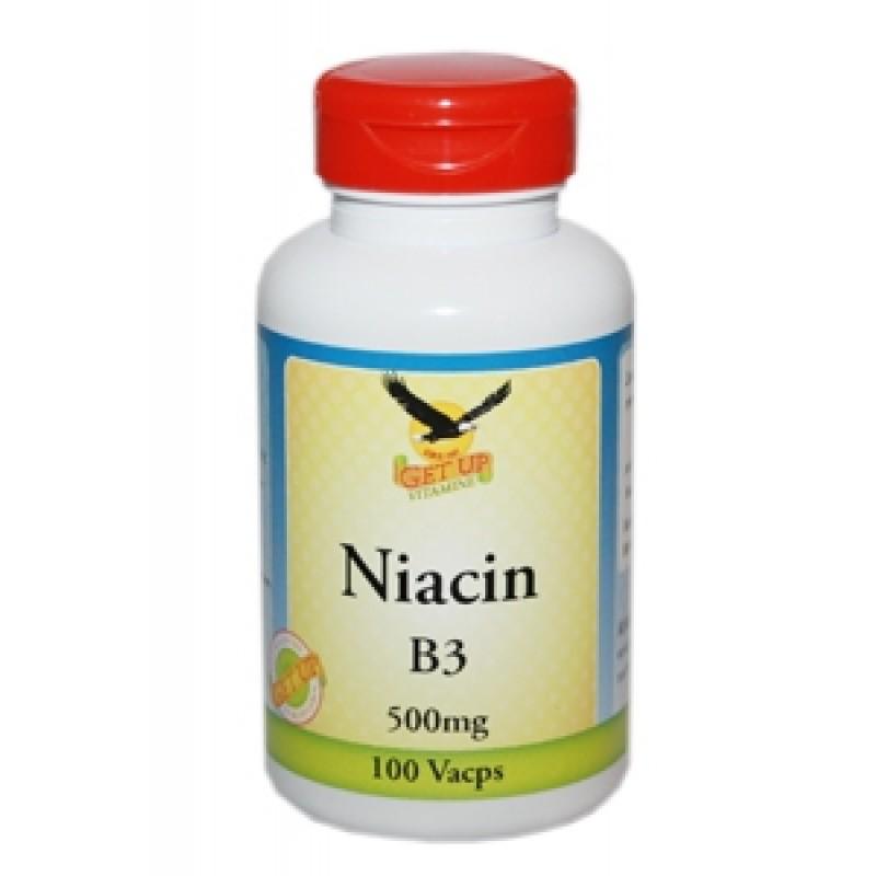 Vitamin B3 Niacin 500mg