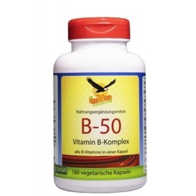 Vitamin B-50 Komplex von GetUP bestellen