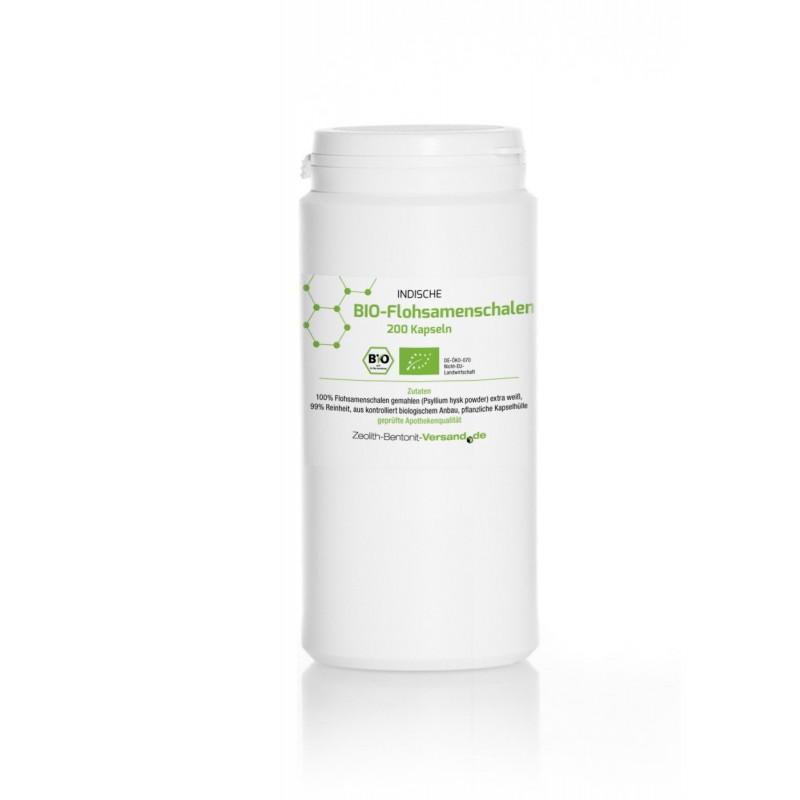 Flohsamenschalen 200 veg. Kapseln hier bestellen - Bio & superfein in der Kapsel