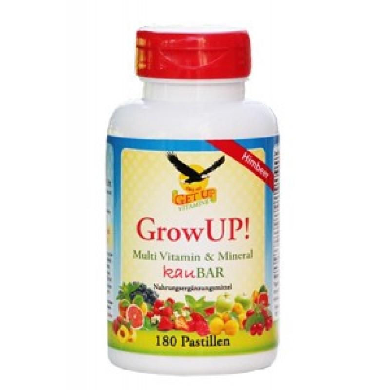 Kinder Multi Vitamin & Mineral Kaupasillen GrowUP! mit Xylit hier bestellen