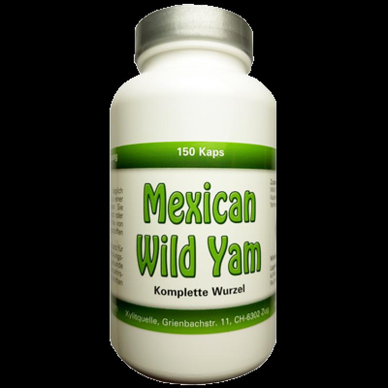 Mexican Wild Yam Kapseln bestellen