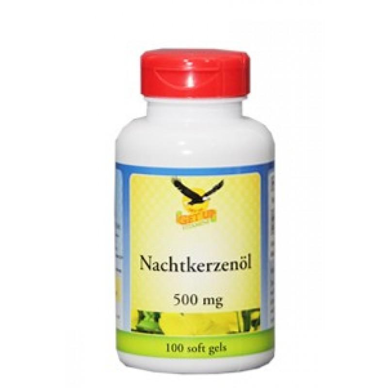 Nachtkerzenöl (Vitamin F) 500 mg - 100 Kapseln