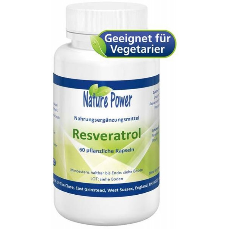 Resveratrol - Das Antioxidans aus roten Trauben