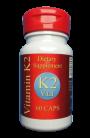 Vitamin K2 Vital - 200mcg reines MK 7, 60 vegetarische Kaps