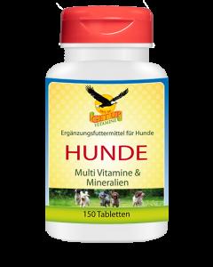 Hunde Vitamine & Mineralien, 150 Multivitamin Kautabs für Hunde