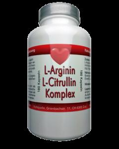 L-Arginin L-Citrullin Komplex, 180 Kapseln hier bestellen