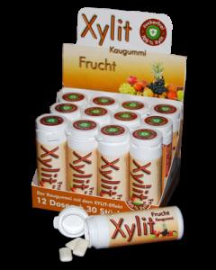 Xylit Kaugummi mit Birkenzucker FRUCHTIG bestellen