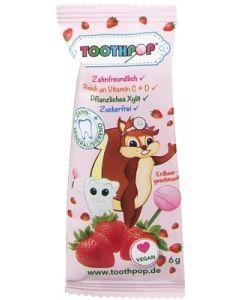 Birkenzucker Lolli Toothpop Erdbeer bestellen