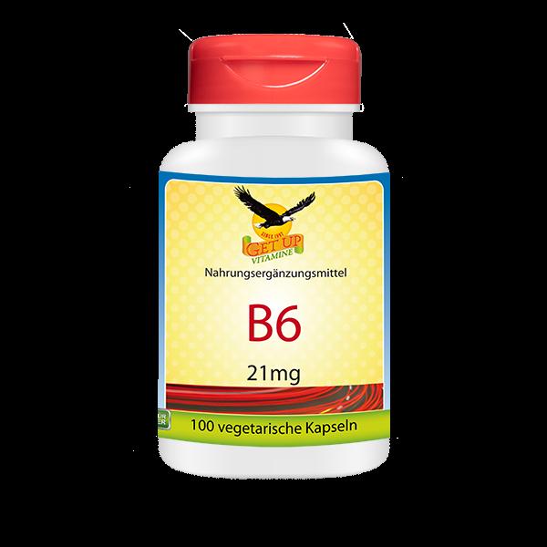Vitamin B6 Kapseln von GetUP bestellen