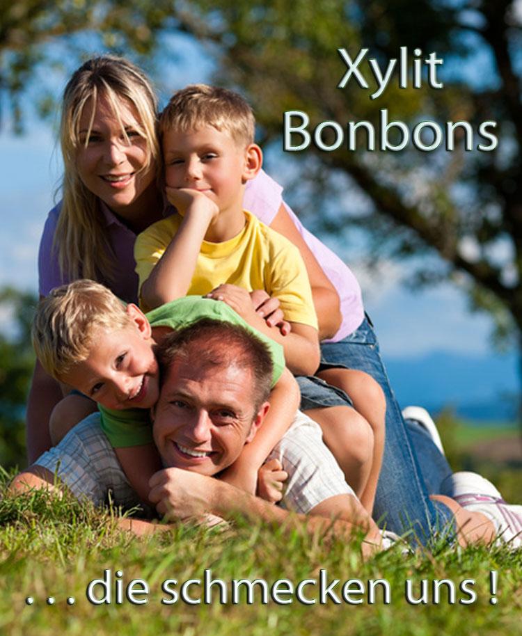 Bonbons aus Xylit Birkenzucker